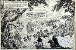 Savage Sword Of Conan 174 Pg 19 Pencils By Mike Clark And Inks By Alfredo Alcala