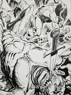 Savage Sword of Conan #86 page 7 by Gil Kane, Luke McDonnell and Zoran Vanjaka