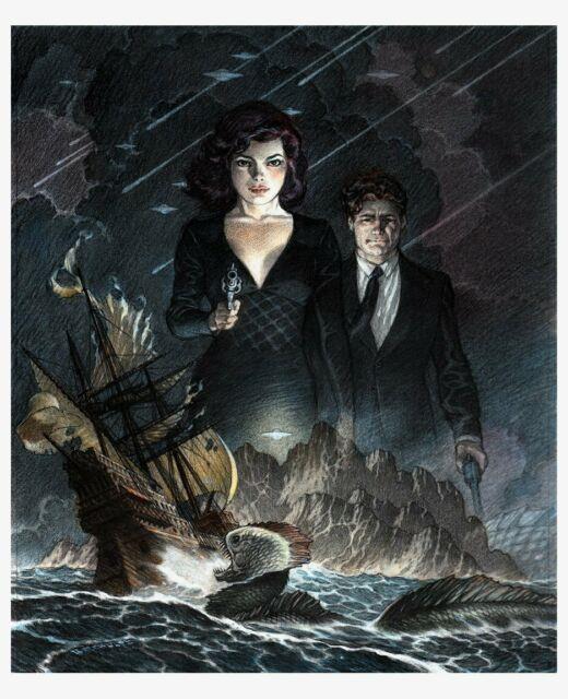 Schultz, Mark'storms At Sea' Mixed Media Color Book Cover (2014)