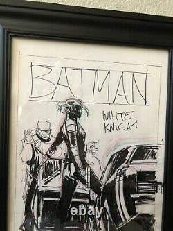 Sean Gordon MURPHY Original Cover Art #7 Batman White Knight Advanced Prelim
