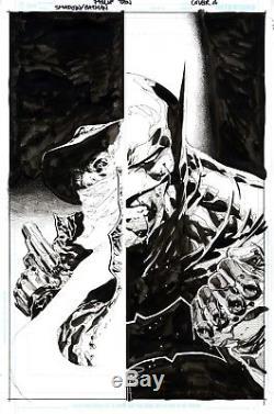 Shadow batman Cover Philip Tan Original Comic Art