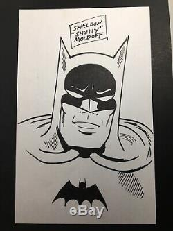 Sheldon Moldoff Batman Original Art! DC Comics Bob Kane