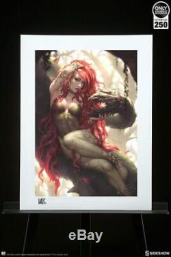 Sideshow Collectibles Art Print DC Poison Ivy #237/250 NEW SOLD OUT NEVER OPENED