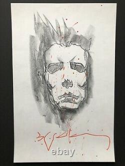 Sienkiewicz Halloween Michael Myers SKETCH ORIGINAL ART Horror Movie