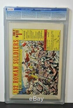 Silver Surfer #1 (1968) CGC Graded 8.0 Origin Stan Lee Story, John Buscema Art