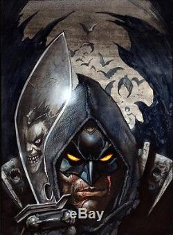Simon BISLEY Tower Chronicles issue 1 COVER PAINTING original art