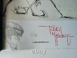 Spawn Vault Edition by Todd McFarlane and with Original Violator Sketch Art