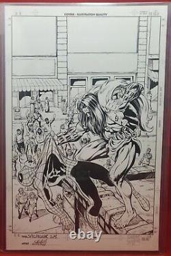 Spectacular Spider-Man #251 Cover Original Art