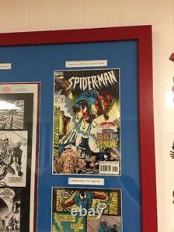 Spider-man 53 Original Art Page 28 (29) Tom Lyle Scarlet Spider Defeats Venom