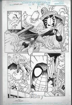 Spider-man # 75 Page 35 Historic Death Of Ben Reilly Scene John Romita Jr 1996