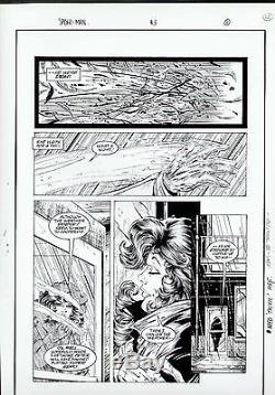 Spiderman #3 Original Proof Page Todd Mcfarlane Art Mary Jane Watson-parker