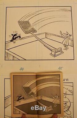 Spy vs Spy Original Artwork by Bob Clark Mad Magazine Paperback Pg 38-47