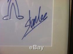 Stan Lee Rare Original Art Hand Drawn Spider-Man SIGNED SKETCH