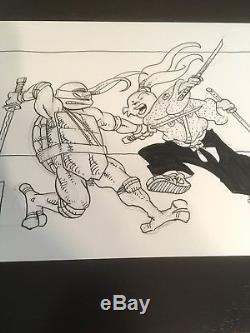 Stan Sakai Original Art/ Usagi Yojimbo Vs. Leo Sparring