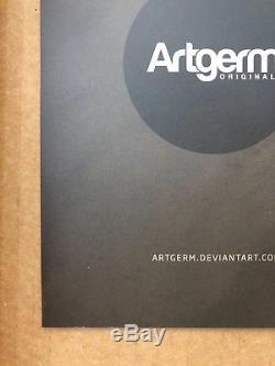 Stanley Artgerm Superbelle Sketchbook 1 Rare Original Batgirl Sketch 2014 HOT