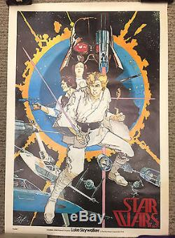 Star Wars / Original Poster #1 Comic Book Art Howard Chaykin 1st Edition