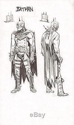 Steampunk Gotham Batman DC Design Art Prelim 2011 art by Sean Gordon Murphy