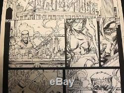Stephen PLATT Original Art Cable 63 PAGE 4 COMIC DAILY BUGLE JJ JAMESON