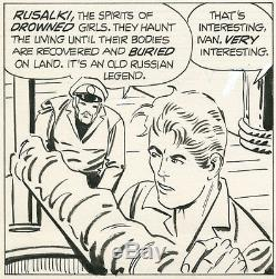 Steve Ditko, Scary Tales 12 page 8, NO RESERVE
