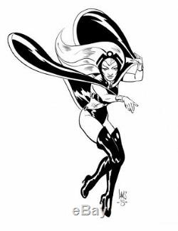 Storm of the X-Men ORIGINAL ART by Legendary X-Men artist PAUL SMITH