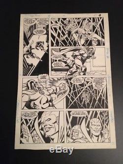Super Powers #1 p. 7 Darkseid Carmine Infantino Original Art Page DC Comics