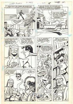 Super Powers #2 p. 11 Origin of Plastic Man Cyborg 1986 by Carmine Infantino