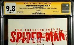 Superior Foes Of Spider-man #1 Cgc Ss 9.8 Original Art Sketch Venom Carnage