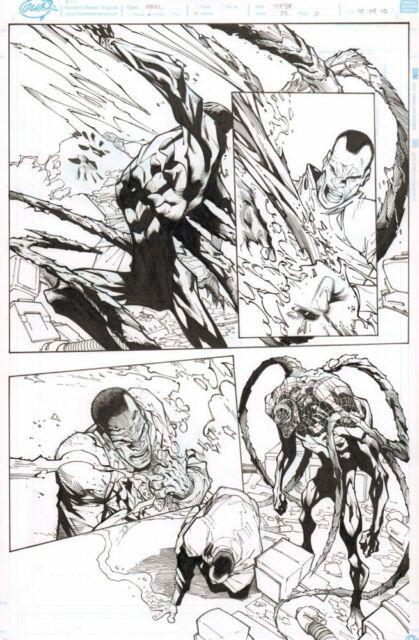 Superior Spider-man #24 P. 3 Superior Venom 2014 Art By Humberto Ramos