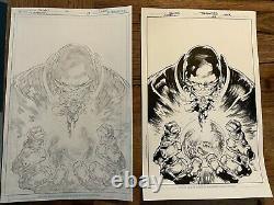 Superman #22 cover art Ivan Reis Joe Prado Bendis pencils & inks