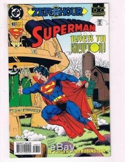 Superman #93 Pg 4 Original Art Dan Jurgens Joe Rubeinstein Zero Hour Supergirl
