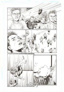 Superman Secret Origin #3 p. 25 Superman Saves Lois 2010 art by Gary Frank