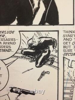 THE SHADOW Issue 18 p 45 Original Comic Book Art KYLE BAKER Avenger Justice Inc