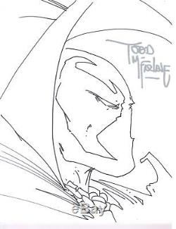 TODD MCFARLANE Original SPAWN SKETCH! 11x14 100% Authentic