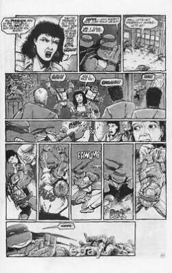 Teenage Mutant Ninja Turtles #14 Mirage 1988 (Original Art) Pg 20 -Kevin Eastman