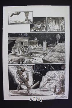 Teenage Mutant Ninja Turtles #60 Pg 18 (Original Art) 1993 Jim Lawson TMNT