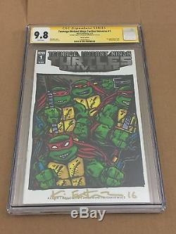 Teenage Mutant Ninja Turtles Original Sketch Kevin Eastman CGC 9.8! All 4 TMNT