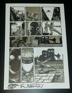 Teenage mutant ninja turtles (TMNT) Original Art issue 50