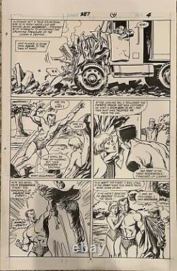 The Avengers #287 Pg 4 Original John Buscema Comic Art Page! Sub Mariner
