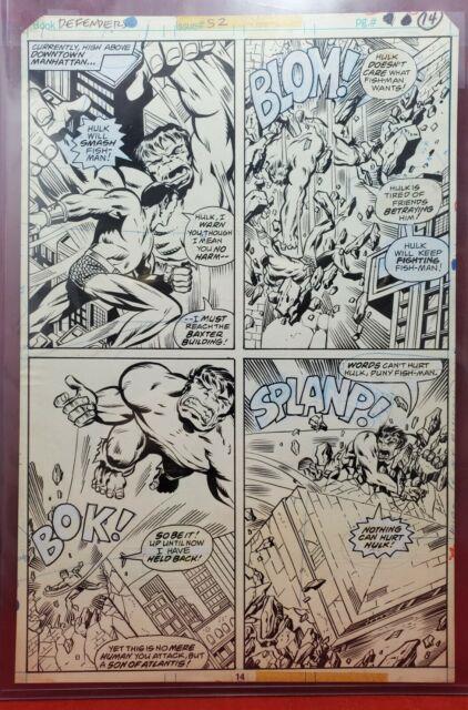 The Defenders #52 Pg. 14 Original Art
