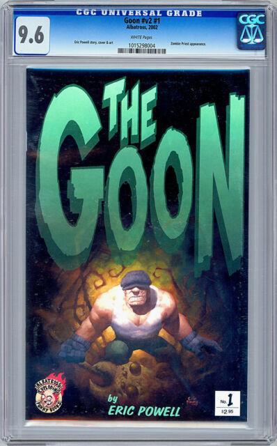 The Goon #1 Cgc 9.6 Eric Powell Original Story Cover & Art Albatross 2002