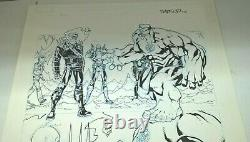 Thunderbolts # 21 Page 7 Original Art By Carlo Barberi