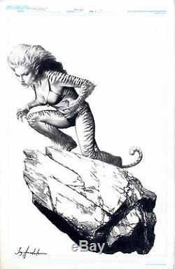 Tigra of the Avengers and West Coast Avengers by Jay Anacleto