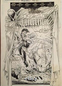 Todd McFarlane Spectacular Spider-Man Prowler Splash Original Art! Awesome