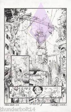 Tokyo Ghost Issue #10 page #18 Original Artwork by Sean Gordon Murphy