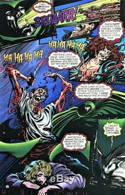 Tom Mandrake Signed 1995 The Spectre Original Art