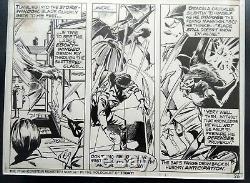 Tomb of Dracula #24 pag. 14 original comicbook art Gene Colan and Tom Palmer