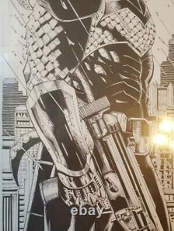 Tony Daniel Deathstroke Original Comic Art Full Spash Page