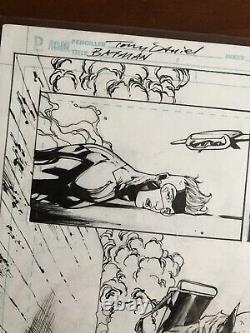 Tony Daniel Original Art Batman Issue 45, Page 7