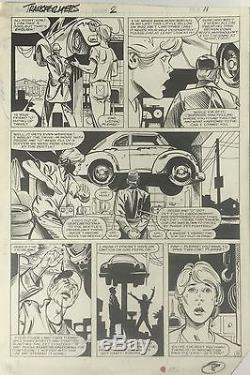 Transformers Limited Series #2 Pages 8 & 9 (1984) FRANK SPRINGER & KIM DEMULDER