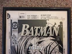 Travis Charest-Batman #488 Cover/ Original Art